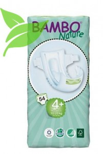 Bambo Nature Maxi Plus 10-20kg, 54 szt.