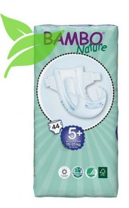 Bambo Nature 5+ Junior Plus 15-25kg, 44 szt.