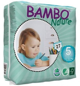 Bambo Nature 5 Junior 12-22kg, 27 szt.